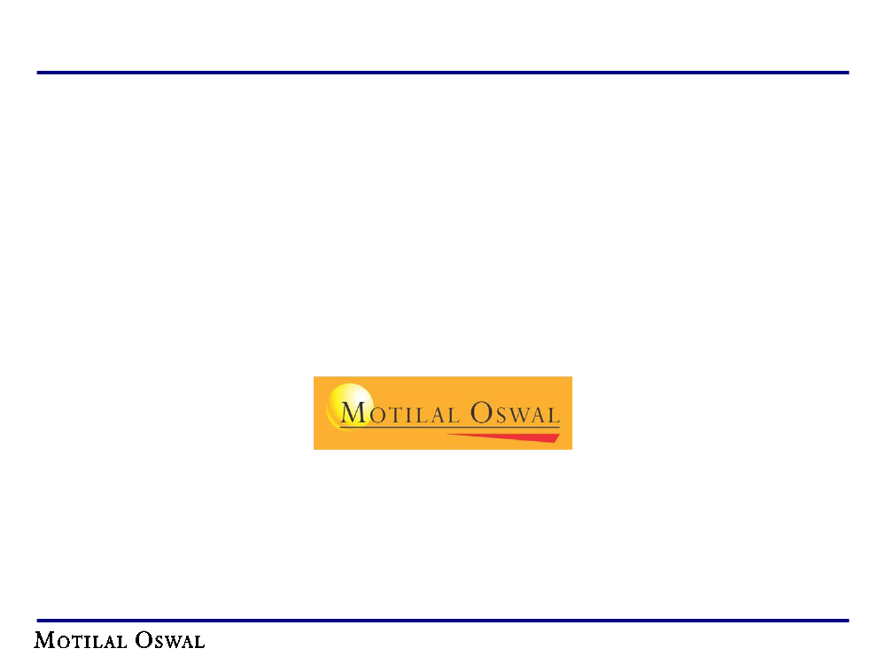 Reports Study on Portfolio Management at Motilal Oswal Financial Services Ltd
